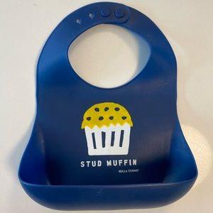 """Bella Tunno """"Stud Muffin"""" Silicone Bib"""